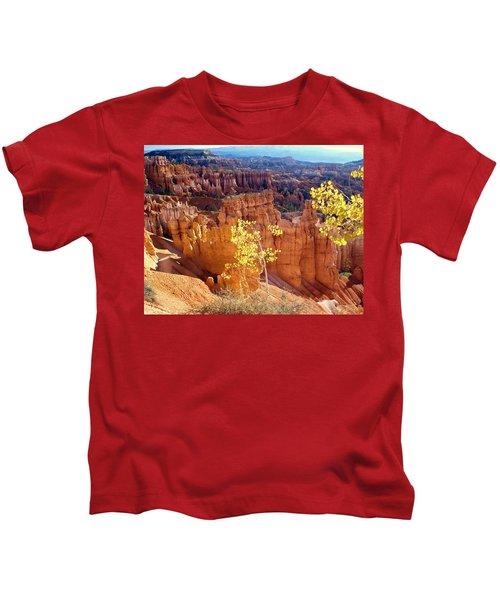 Fall In Bryce Canyon Kids T-Shirt