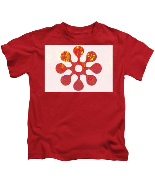Fall Leaves #11 Kids T-Shirt