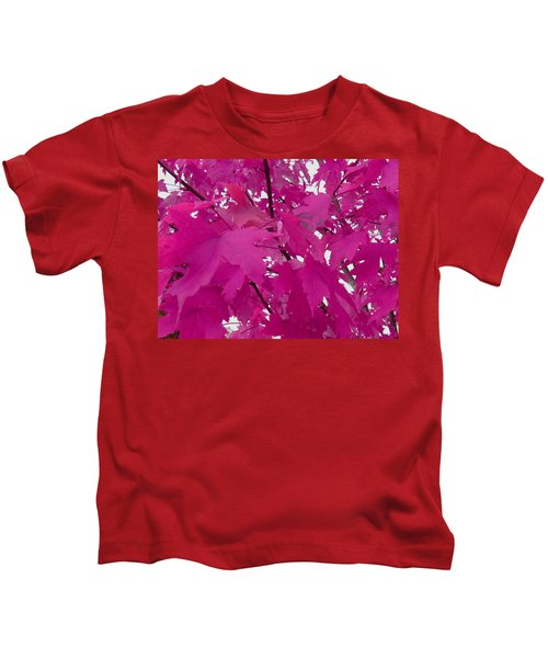 Fall Leaves #5 Kids T-Shirt
