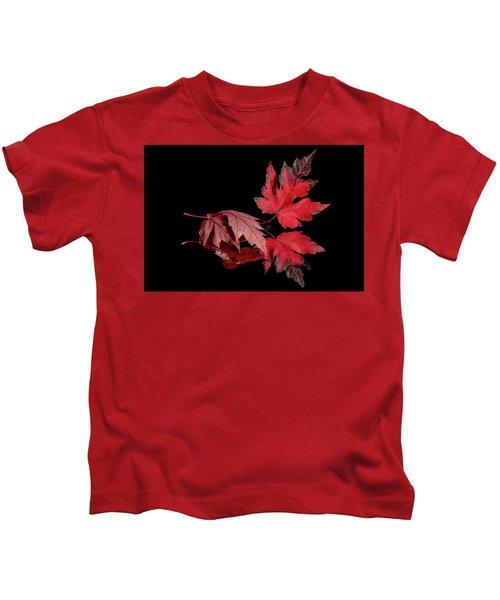 Fall Reflections Kids T-Shirt