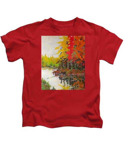 Fall Scene Kids T-Shirt