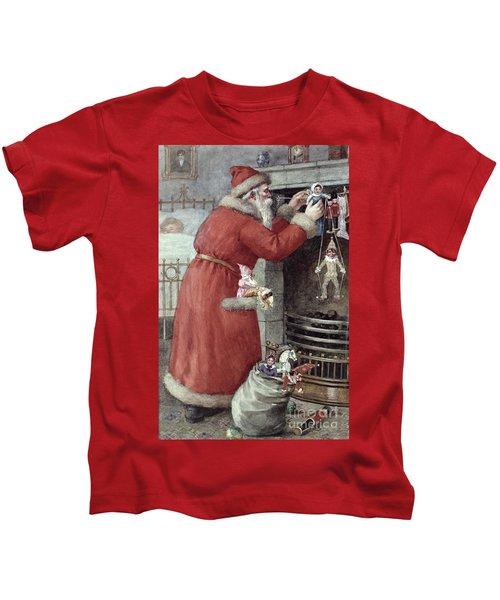 Father Christmas Kids T-Shirt