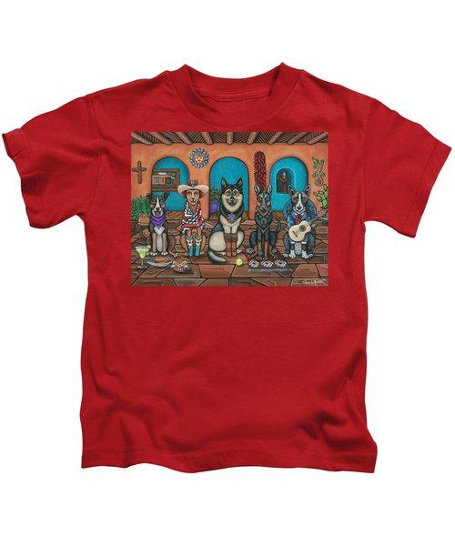 Fiesta Dogs Kids T-Shirt
