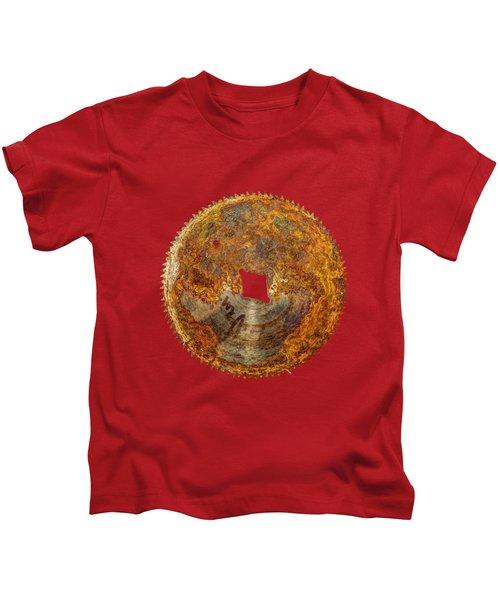 Fine Tooth Sawblade Kids T-Shirt