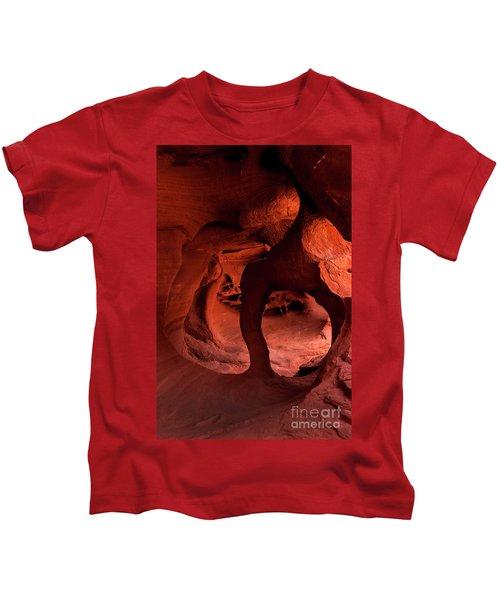 Fire Cave Inferno Kids T-Shirt
