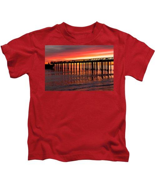 Fire In The Sky Kids T-Shirt