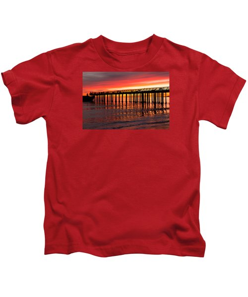Fire In The Sky Kids T-Shirt