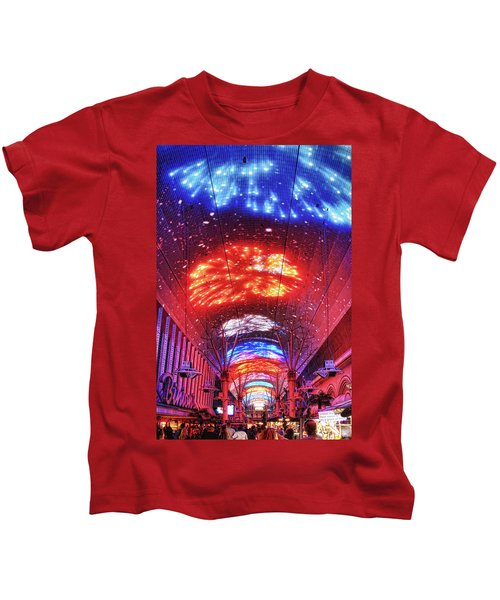 Fireworks Display In Las Vegas Kids T-Shirt