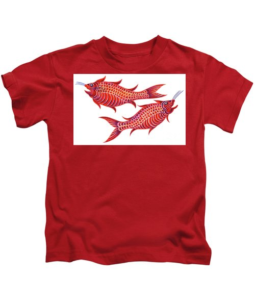 Fish Pisces Kids T-Shirt