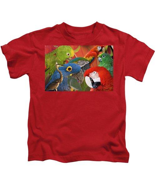 Florida Birds Kids T-Shirt