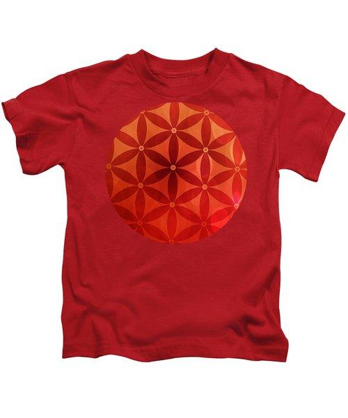 Flower Of Life  Kids T-Shirt