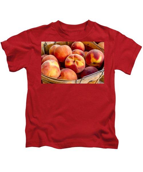 Fresh Peaches Kids T-Shirt