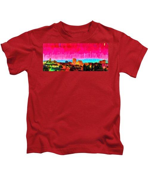 Fresno Skyline 104 - Da Kids T-Shirt