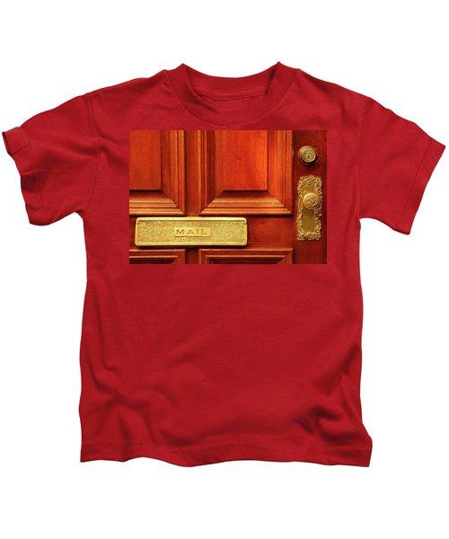 Front Door French Quarter Kids T-Shirt