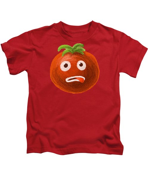 Funny Tomato Kids T-Shirt
