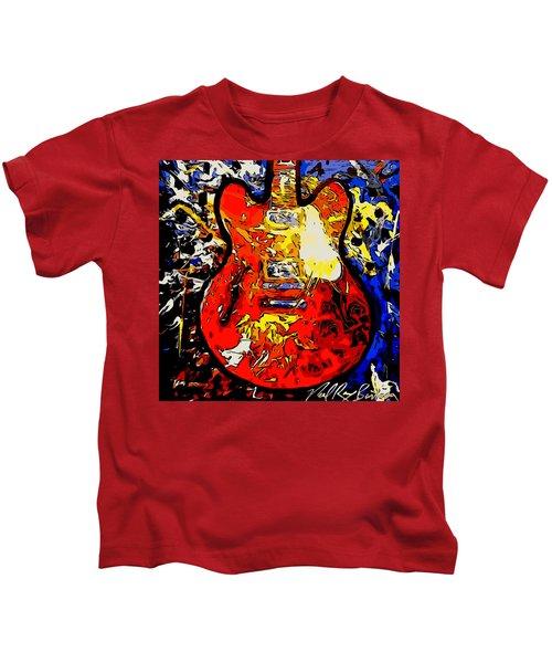 gibson ES-335 rework Kids T-Shirt