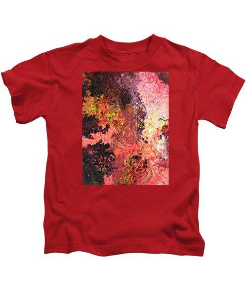 Ganesh In The Garden Kids T-Shirt