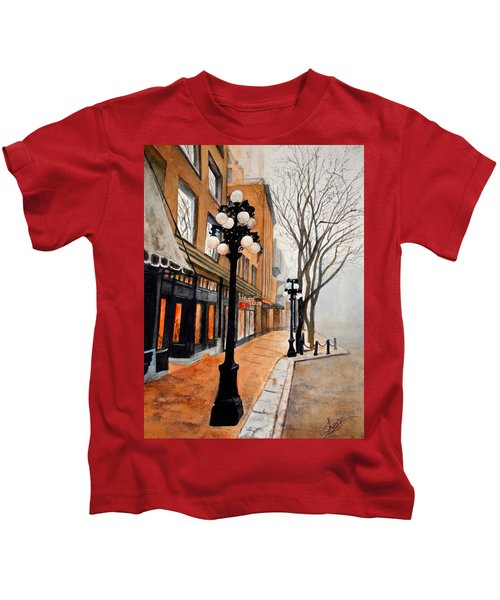 Gastown, Vancouver Kids T-Shirt