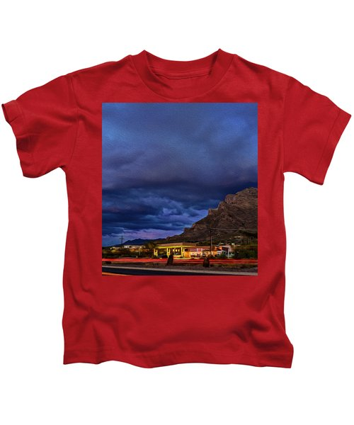 Gathering Storm Op51 Kids T-Shirt by Mark Myhaver