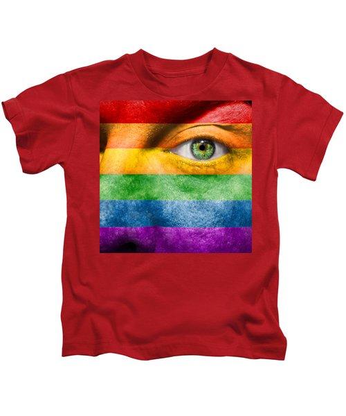 Gay Pride Kids T-Shirt