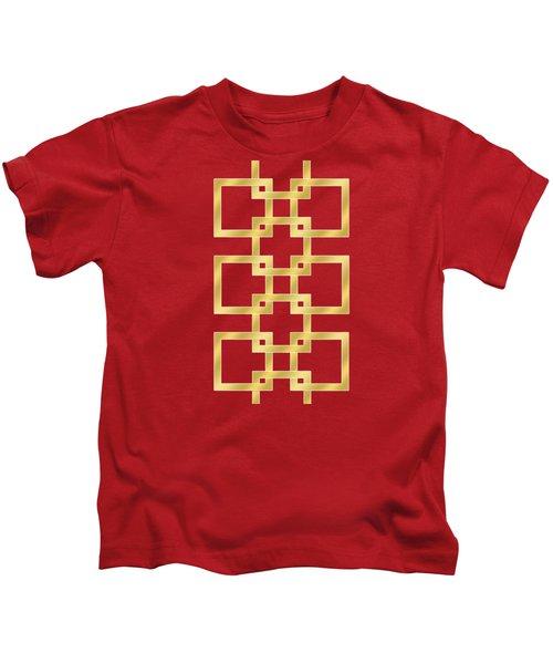 Geometric Transparent Kids T-Shirt