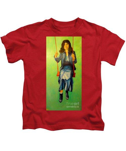 Girl On The Swing  80x160 Cm Kids T-Shirt