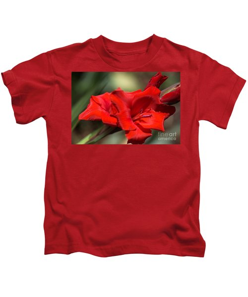 Gladioli Manhattan Variety  Kids T-Shirt