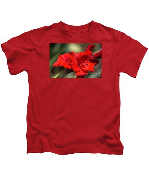 Gladioli Manhattan Variety  Kids T-Shirt