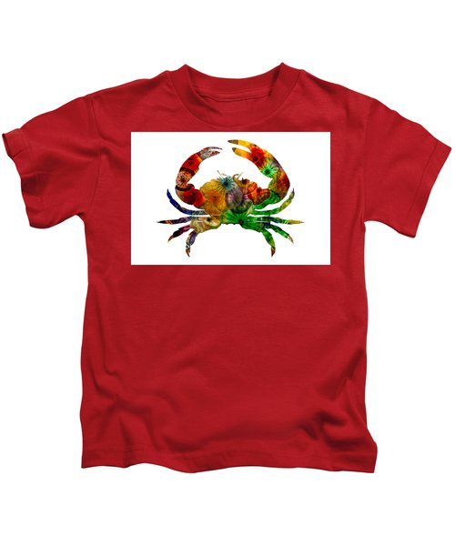 Glass Crab Kids T-Shirt
