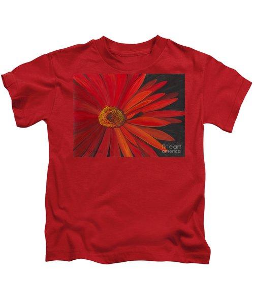 Glowing Gerber Kids T-Shirt