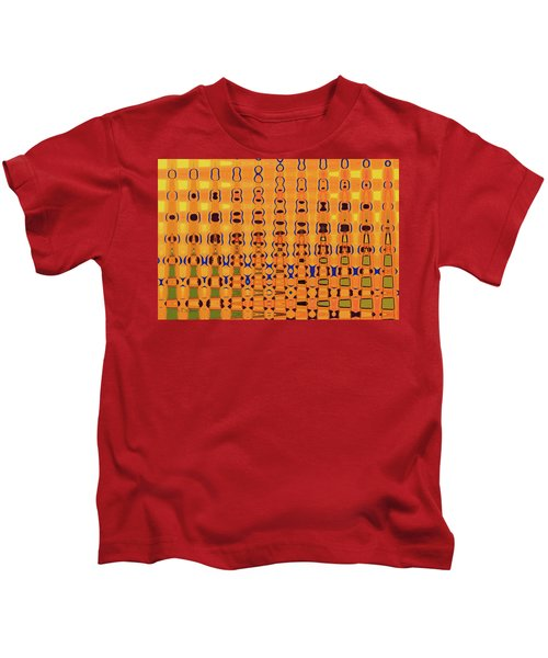 Go Fly A Kite Abstract# 3052wt Kids T-Shirt