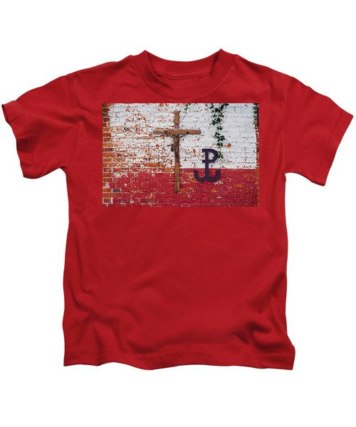 God, Honour, Fatherland Kids T-Shirt