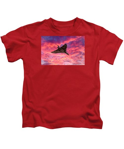 Going Out In A Blaze Of Glory Kids T-Shirt
