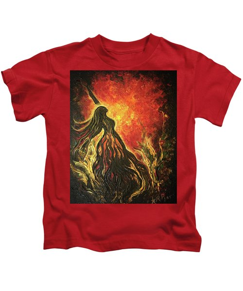Golden Goddess Kids T-Shirt