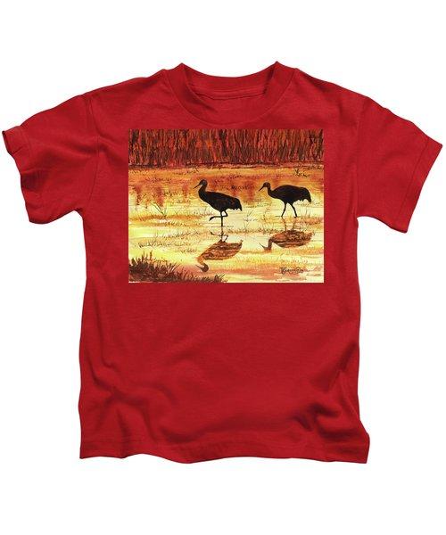 Golden Reflections Kids T-Shirt