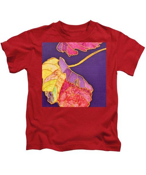 Grape Leaves Kids T-Shirt
