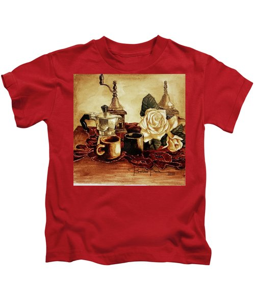 Grounded Roses 1 Kids T-Shirt