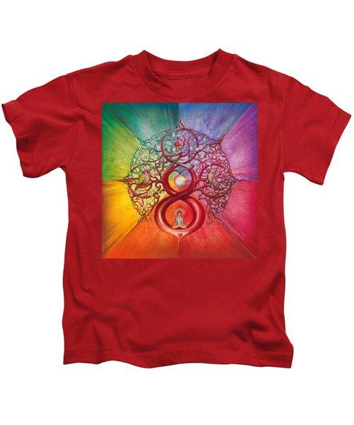 Heart Of Infinity Kids T-Shirt
