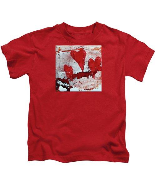 Hearts Afire Kids T-Shirt