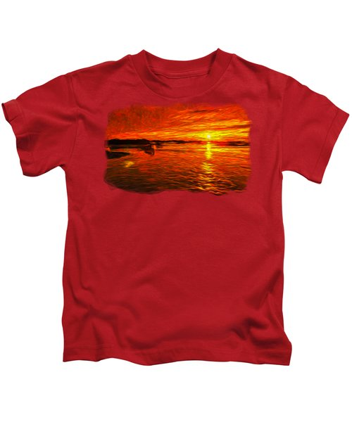 Heavens Of Fire 2 Kids T-Shirt