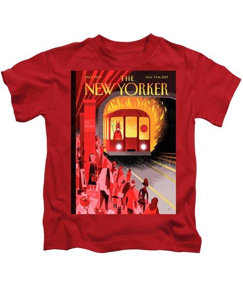 Hell Train Kids T-Shirt