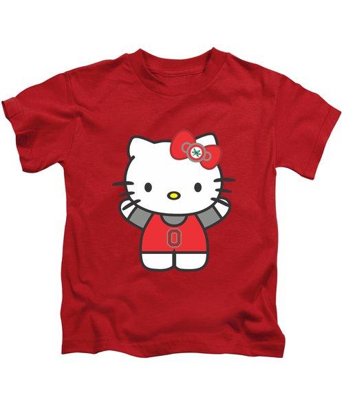 Hello Kitty - Ohio State Kids T-Shirt
