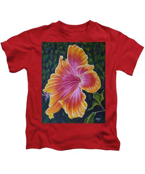 Hibiscus Kids T-Shirt