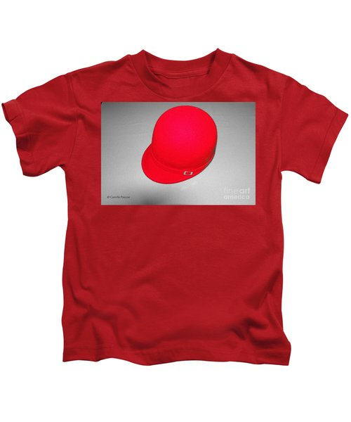 Hints Of Red - Hat Kids T-Shirt