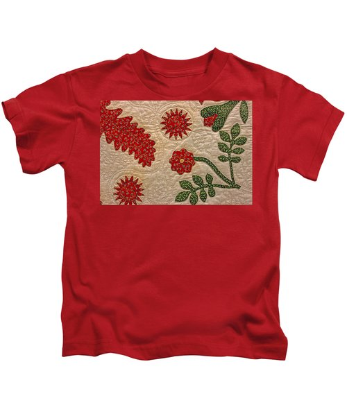 Historic Quilt Kids T-Shirt