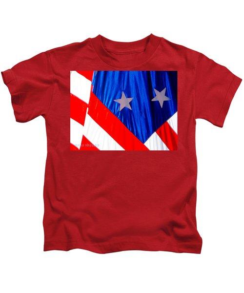 Historical American Flag Kids T-Shirt