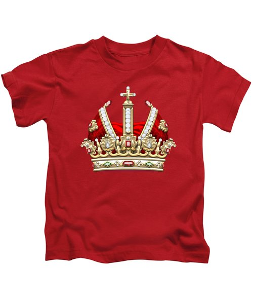 Holy Roman Empire Imperial Crown  Kids T-Shirt