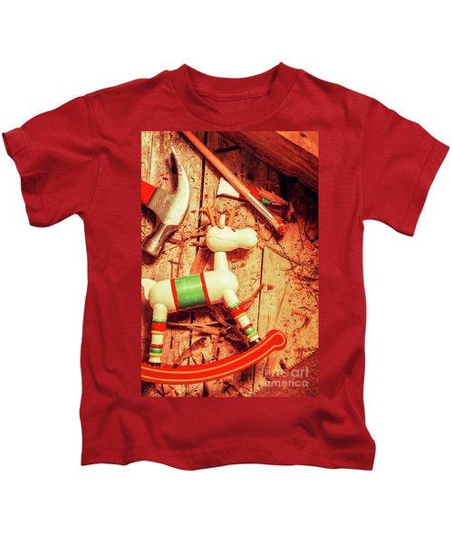 Homemade Christmas Toy Kids T-Shirt