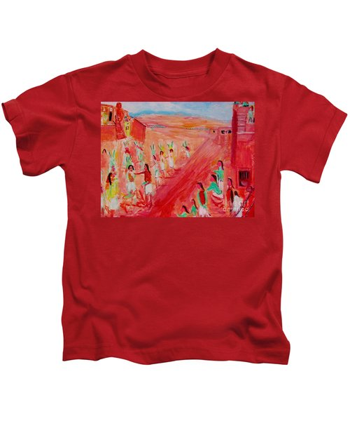 Hopi Indian Ritual Kids T-Shirt