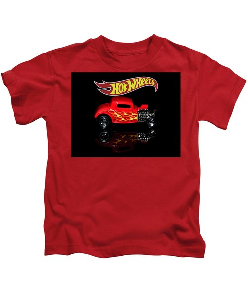 Hot Wheels '32 Ford Hot Rod Kids T-Shirt